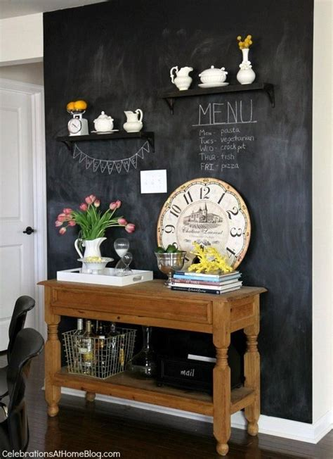 chalkboard paint ideas restaurants our home kitchen tour kitchen chalkboard walls home