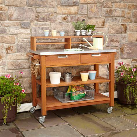 Gardening Workbench Amusing Potting Bench Design With Sink Ideas Exterior