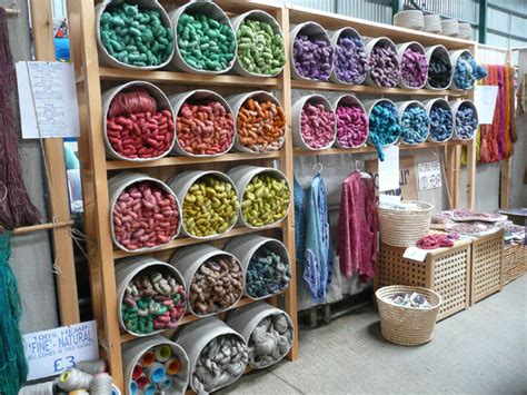 knitting store yarn lovefibre colour to touch