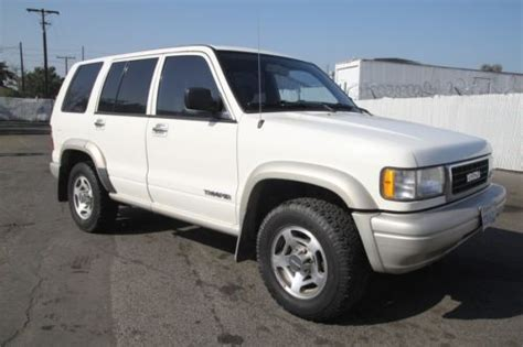 how petrol cars work 1997 isuzu trooper interior lighting buy used 1997 isuzu trooper ls 4wd manual 6 cylinder no reserve in orange california united states