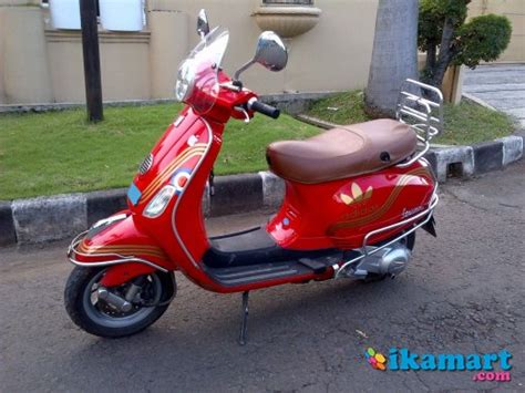 Vespa Lx Merah Modifikasi by Jual Lx 150 Merah Motor