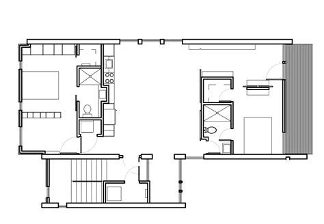 modern contemporary floor plans modern home blueprints