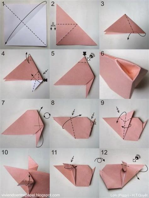 origami pigs the world s catalog of ideas