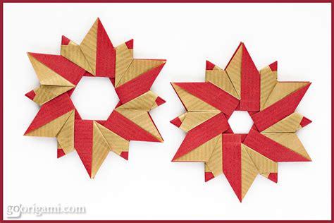 origami wreath sided kraft paper frog folia go origami