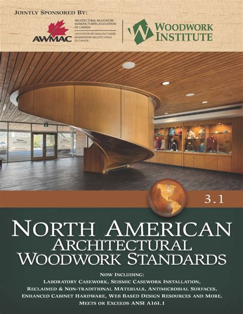 architectural woodwork institute american architectural woodwork standards a