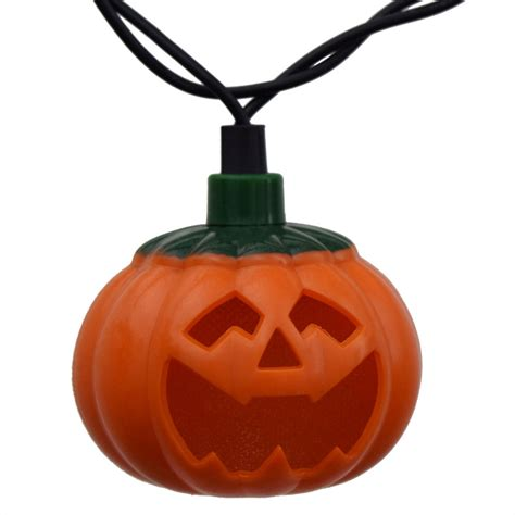blinking string lights pumpkin led string lights battery operated 10 lights