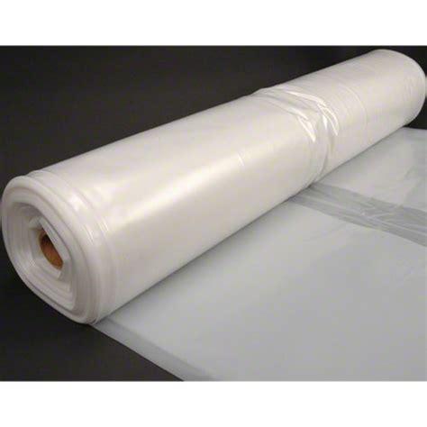 clear plastic husky 20 x 100 6 mil clear plastic sheeting