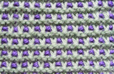slip stitch knit chalk cottage knitting variation on garter slip stitch