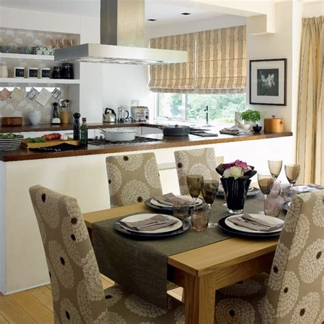 dining room and kitchen combined ideas stylish open plan kitchen dining room housetohome co uk