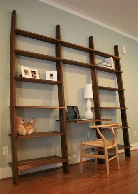 leaning bookshelf desk leaning bookshelf with desk future home