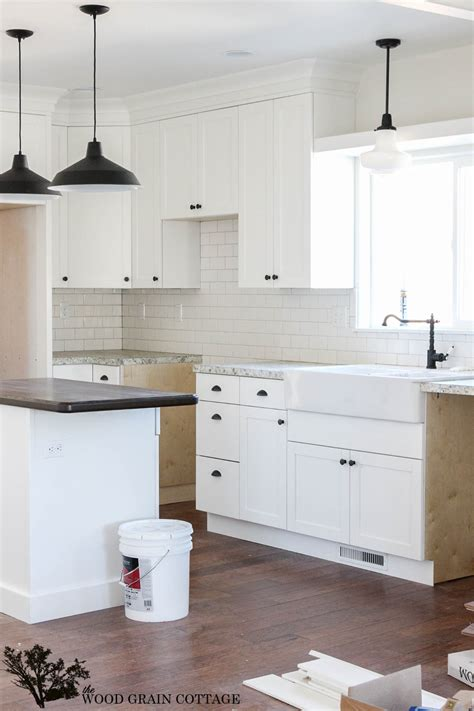 Ideas To Update Kitchen Cabinets fixer upper update cabinet hardware the wood grain cottage
