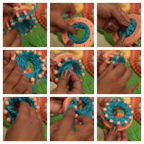 how to knit a flower on a loom how to loom knit flowers