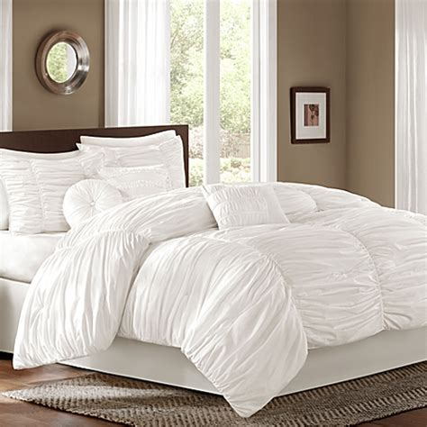 comforter bed buy sidney 7 comforter set in white from bed
