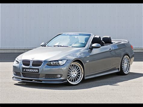 2007 Bmw Convertible by 2007 Hamann Bmw 3 Series Convertible Front Angle
