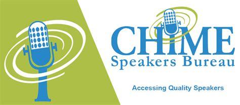 chime speakers bureau healthcare it chime
