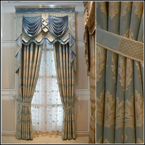 damask kitchen curtains blue and gold kitchen curtains curtains home design