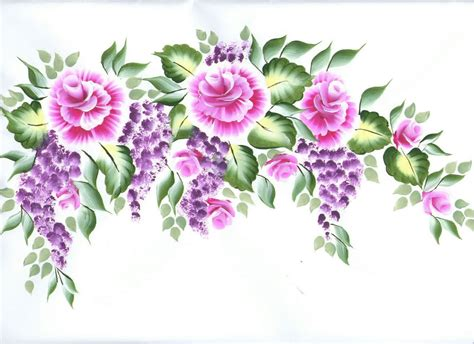one stroke flowers painting val s quot one stroke quot flower paintings