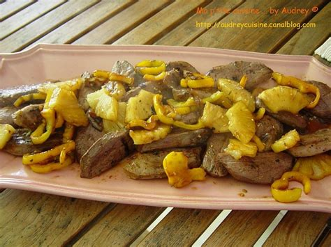 magret de canard 224 l ananas ma p tite cuisine