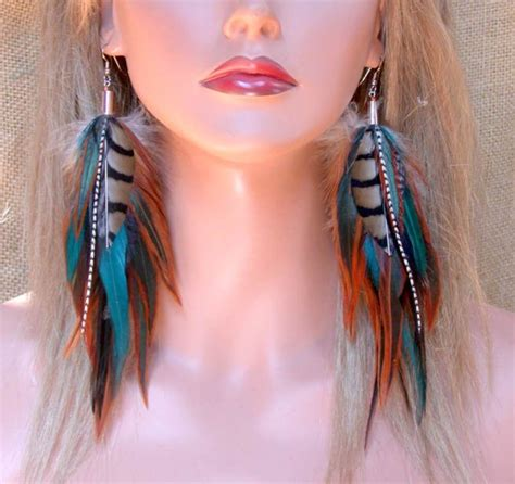how to make feather jewelry feather earrings woodlands feather earrings