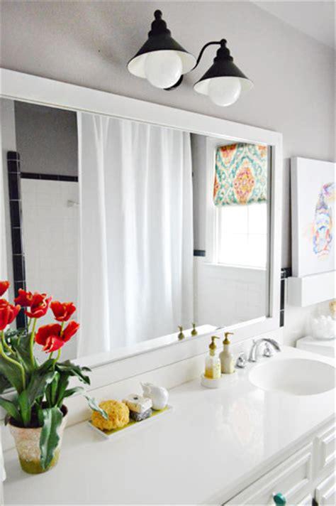 how to frame bathroom mirrors how to build a wood frame around a bathroom mirror