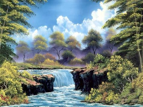 bob ross painting easy bob ross bob ross landscape painting 2 painting