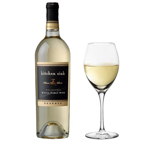kitchen sink white table wine thisthatbeauty