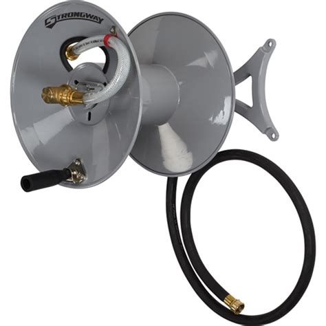 wall mounted garden hose reel strongway 46434 wall mount garden hose reel myreels
