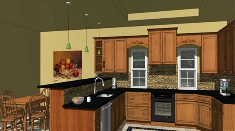 designing a kitchen with sketchup sketchup make your kitchen designing process