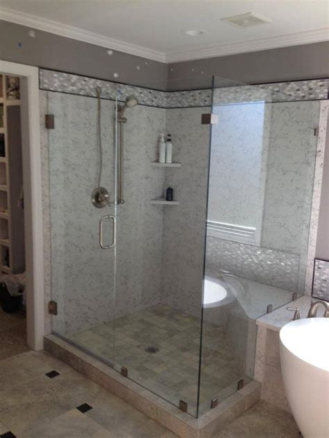 shower doors frameless frameless glass shower door photo gallery precision glass