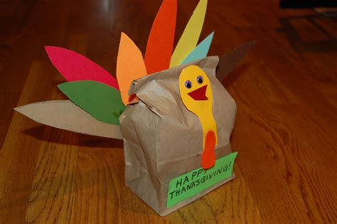 craft with paper bags paper bag turkey craft ye craft ideas