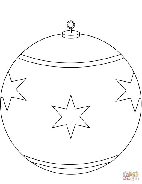 ornament coloring sheets ornament coloring page free printable