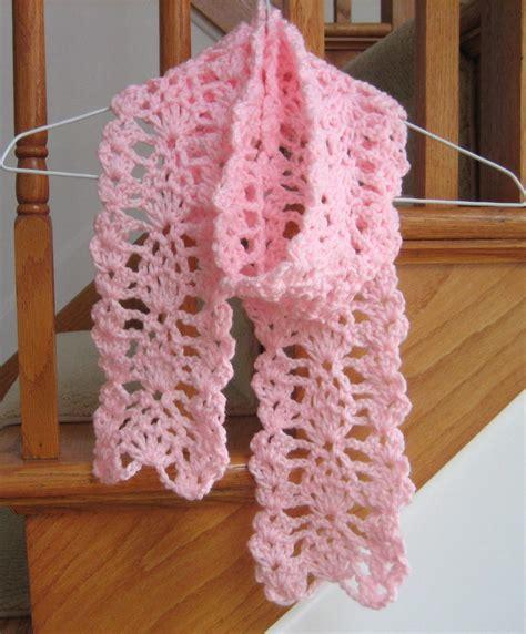 Designer Kitchen Accessories lacy pineapple crochet scarf allfreecrochet com