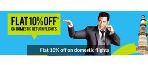 make my trip sbi card offer sbi credit card offer on domestic flight bookings at yatra