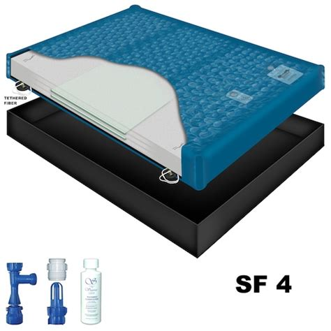 sanctuary sf4 waveless waterbed mattress
