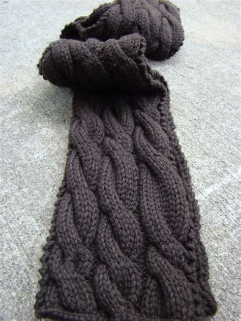 cable knit scarf pattern free 10 ideas about cable knit scarves on knitting