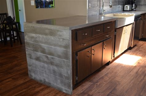 Different Kitchen Cabinets building and installing diy concrete countertops elly s