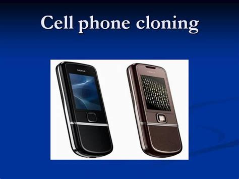 cell phone cloning ppt authorstream