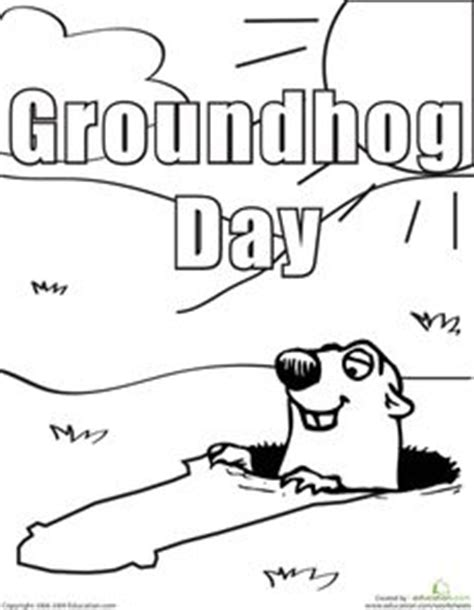groundhog day for a black groundhog day newspaper and student on