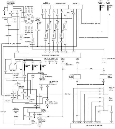 1983 nissan 280zx turbo wiring diagram 1983 free engine