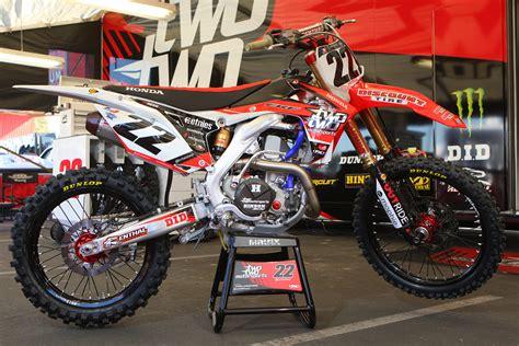 Team Honda by Racing Caf 232 Supercross Racing Motorcycles 450 Class 2013