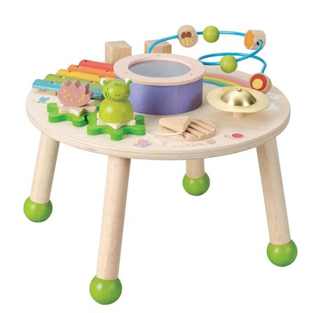 bead maze table new children s wooden play table w drum xylophone
