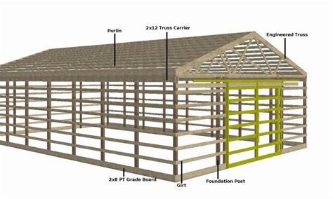 house builder plans 30 215 40 pole barn plans andybrauer