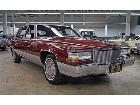 1992 Cadillac Brougham For Sale by 1992 Cadillac Fleetwood Brougham For Sale Classiccars