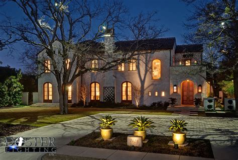 landscape lighting experts in design and service doster lighting inc