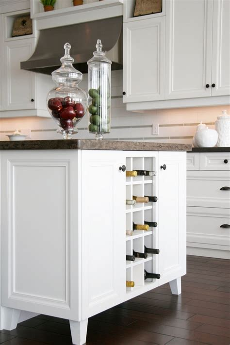 Kitchen Island Ideas Small Kitchens modern wine racks an impressive decorative element in the
