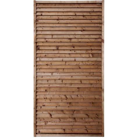 panneau bois persienn 233 vera l 90 cm x h 180 cm marron leroy merlin
