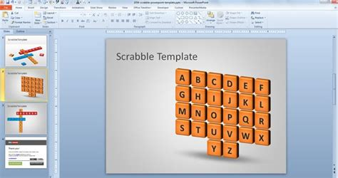 can you use re in scrabble free scrabble powerpoint template