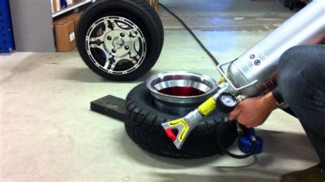 how to seat a tire bead tire bead seating with maximum ease