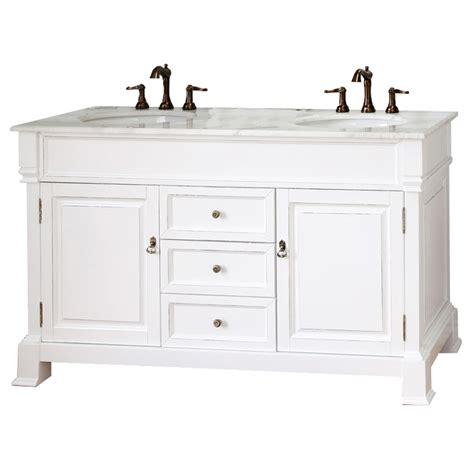 white bathroom sink vanity shop bellaterra home white rub edge undermount