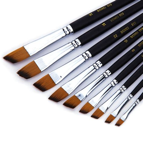 acrylic paint brushes 9pcs paint brush acrylic paint brush watercolor brush